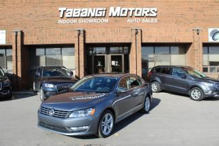 Used 2013 Volkswagen Passat HIGHLINE I NO ACCIDENT I NAVIGATION I REARCAM I LEATHER I BT for sale in Mississauga, ON
