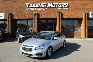 Used 2015 Chevrolet Cruze NO ACCIDENTS I BIG SCREEN I REAR CAM I REMOTE START I BT for sale in Mississauga, ON