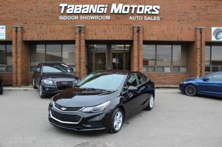 Used 2016 Chevrolet Cruze SUNROOF I REAR CAM I HEATED SEATS I BIG SCREEN I PUSH START for sale in Mississauga, ON