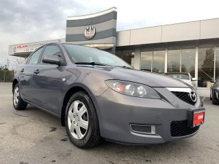 Used 2007 Mazda MAZDA3 GS AUTO POWER GROUP A/C ONLY 98KM for sale in Langley, BC