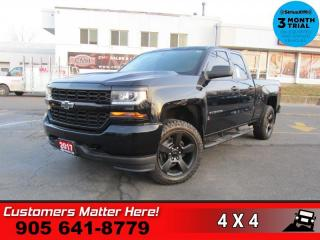 Used 2017 Chevrolet Silverado 1500 Custom  AWD 5.3L CAM 20-AL for sale in St. Catharines, ON