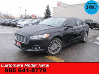 Used 2014 Ford Fusion Titanium  AWD NAV LEATH CAM HS P/SEATS for sale in St. Catharines, ON
