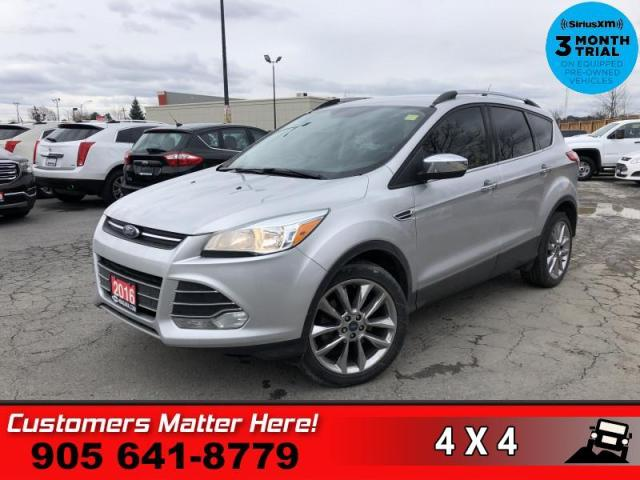 2016 Ford Escape SE  AWD NAV REAR-CAM HTD-STS 2.0L