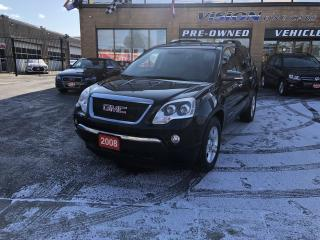Used 2008 GMC Acadia AWD 4dr SLT1-7 SEAT for sale in North York, ON