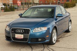 Used 2008 Audi A4 2.0T Progressiv S-Line | CERTIFIED for sale in Waterloo, ON