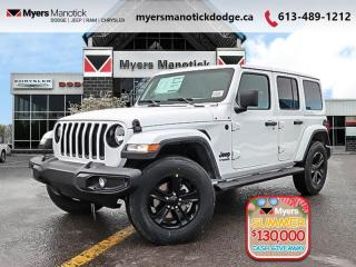 New 2020 Jeep Wrangler Unlimited Sahara Altitude  - $308 B/W for sale in Ottawa, ON