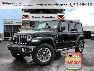 New 2020 Jeep Wrangler Unlimited Sahara  -  Android Auto - $286 B/W for sale in Ottawa, ON