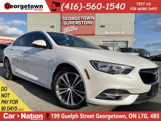 Used 2018 Buick Regal Essence AWD | CLEAN CARFAX | LEATHER | NAVI | ROOF for sale in Georgetown, ON