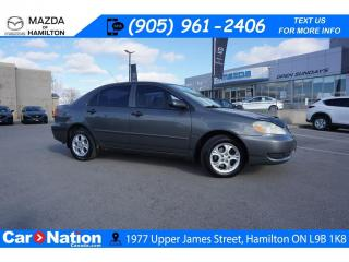 Used 2005 Toyota Corolla SE | AS-TRADED | SUNROOF | ALLOYS for sale in Hamilton, ON