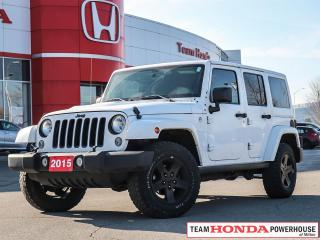 Used 2015 Jeep Wrangler Unlimited Unlimited Sahara 4x4 | One owner Vehicle for sale in Milton, ON