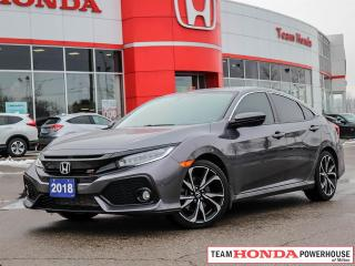 Used 2018 Honda Civic Si--1 Owner--No Accidents--Navi for sale in Milton, ON