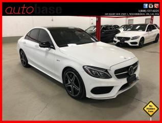 Used 2017 Mercedes-Benz C-Class C43 AMG 4MATIC DISTRONIC PREMIUM 360 CAM CLEAN CARFAX! for sale in Vaughan, ON