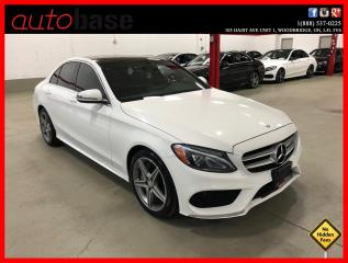 Used 2016 Mercedes-Benz C-Class C300 4MATIC PREMIUM SPORT LED HEATED STEERING WHEEL for sale in Vaughan, ON