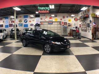 Used 2015 Honda Civic Sedan EX AUT0 A/C SUNROOF BACKUP CAMERA BLUETOOTH 56K for sale in North York, ON