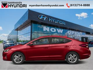 New 2020 Hyundai Elantra Essential IVT  - Fuel Efficient - $113 B/W for sale in Nepean, ON