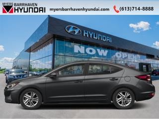 Used 2020 Hyundai Elantra Essential IVT  - Fuel Efficient - $71.43 /Wk for sale in Nepean, ON