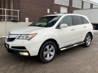 Used 2010 Acura MDX Tech package Navi rearview camera TV DVD Bluetooth for sale in North York, ON