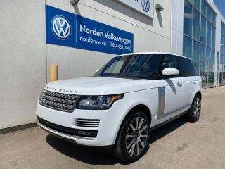 Used 2016 Land Rover Range Rover SUPERCHARGED AUTOBIOGRAPHY - MASSAGE SEATS / EVERY OPTION for sale in Edmonton, AB