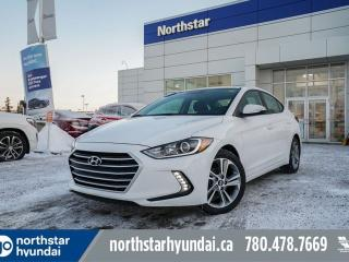 Used 2017 Hyundai Elantra GLS AUTO/SUNROOF/HEATEDSEATS/BLUETOOTH for sale in Edmonton, AB
