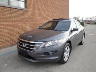 Used 2010 Honda Accord Crosstour AWD /NAVI/CAMERA/SUNROOF/LEATHER/SAFETY &WARRANTNY for sale in Oakville, ON