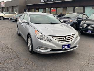 Used 2011 Hyundai Sonata Limited w/Nav for sale in Hamilton, ON