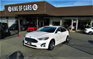Used 2019 Ford Fusion Hybrid Titanium for sale in Langley, BC
