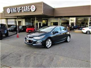 Used 2018 Chevrolet Cruze Premier HATCHBACK for sale in Langley, BC