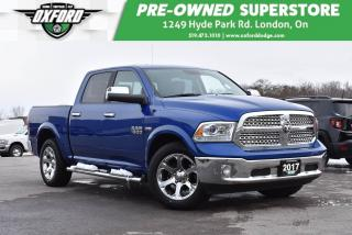 Used 2017 RAM 1500 Laramie - One Owner, Extra Tow Mirrors, Hemi for sale in London, ON