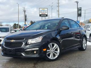 Used 2016 Chevrolet Cruze LT  Navi|RS PKG|Keyless Entry|Push Button Start| for sale in Mississauga, ON