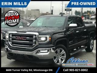 Used 2018 GMC Sierra 1500 SLT  NAVI|REMOTE STRT|20'S|HEATED AND COOLED SEATS| for sale in Mississauga, ON