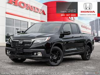 New 2019 Honda Ridgeline Black Edition BLACK EDITION for sale in Cambridge, ON