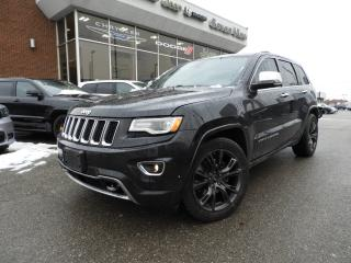 Used 2015 Jeep Grand Cherokee Overland DIESEL/NAVI/LEATHER/DUAL SUNROOF for sale in Concord, ON