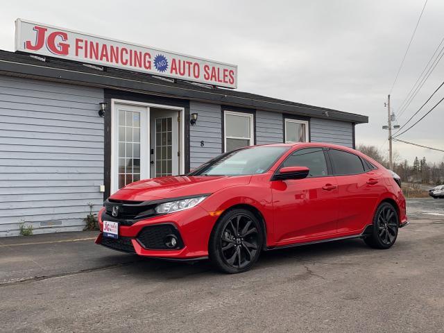 2018 Honda Civic Sport Turbo