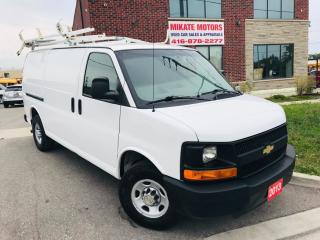 Used 2013 Chevrolet Express 2500 CARGO WITH BACK UP CAMERA for sale in Rexdale, ON
