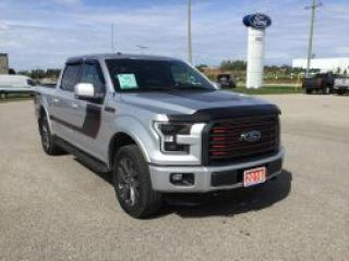 Used 2016 Ford F-150 Lariat Sport | 4X4 | Blind Spot Information System for sale in Harriston, ON