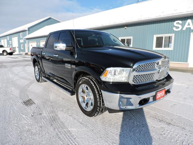 2013 RAM 1500 Laramie. Navigation. Sunroof. Leather. Loaded