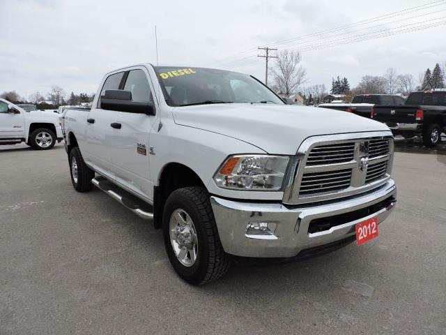 2012 RAM 2500 SLT. Diesel. 4x4, Navigation. New tires