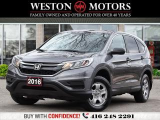 Used 2016 Honda CR-V LX*AWD*REV CAM*HEATED SEATS!!* for sale in Toronto, ON