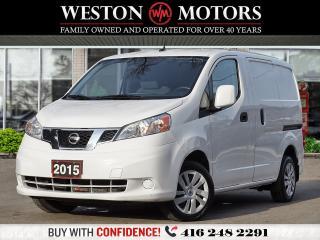 Used 2015 Nissan NV200 4CYL*BTOOTH*REV CAM!!*SIRIUS RADIO*NAVI!!* for sale in Toronto, ON