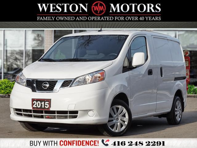 2015 Nissan NV200 4CYL*BTOOTH*REV CAM!!*SIRIUS RADIO*NAVI!!*