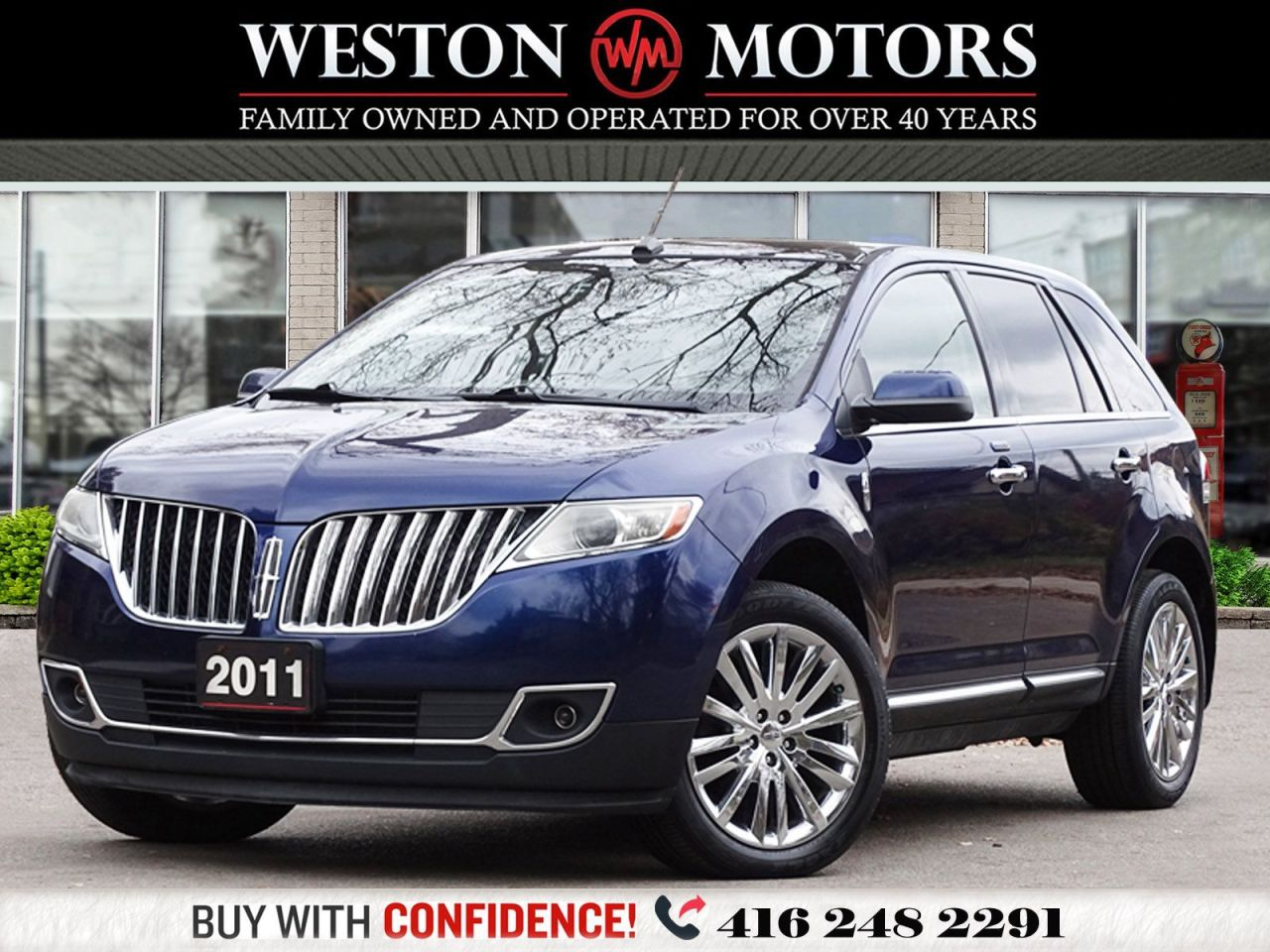 2011 Lincoln MKX AWD*LEATHER*PAN SUNROOF*REV CAM!!*