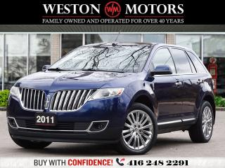 Used 2011 Lincoln MKX AWD*LEATHER*PAN SUNROOF*REV CAM!!* for sale in Toronto, ON