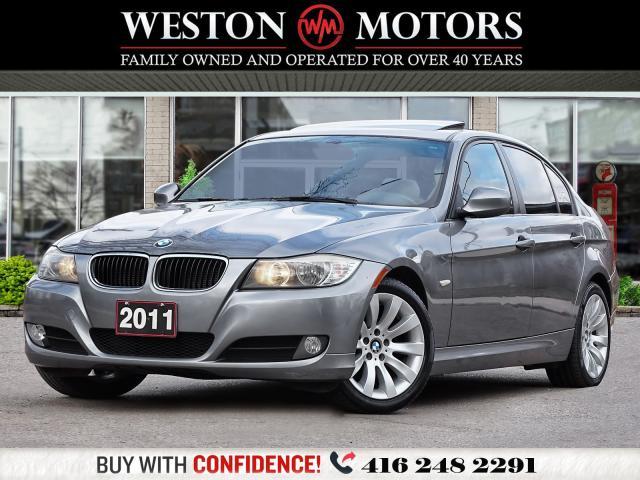 2011 BMW 3 Series 323i*X-DRIVE*LEATHER*SUNROOF*AMAZING SHAPE