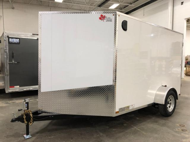 2020 Canadian Trailer Company 7x10  V Nose Cargo Trailer