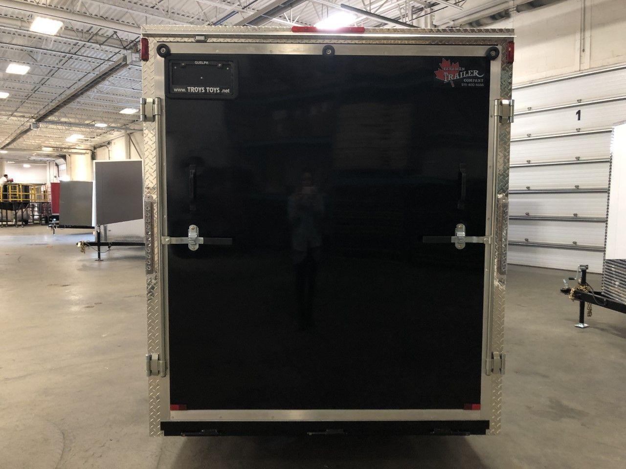 2020 Canadian Trailer Company 7x12 V-Nose Cargo Trailer