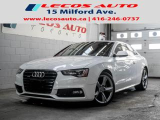 Used 2013 Audi A5 Quottro for sale in North York, ON