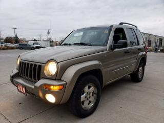 Used 2004 Jeep Liberty Limited, 4X4, Auto, Low km, 3/Y warranty avail for sale in Toronto, ON