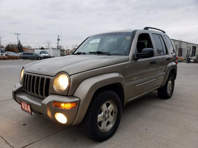 2004 Jeep Liberty Limited, 4X4, Auto, Low km, 3/Y warranty avail