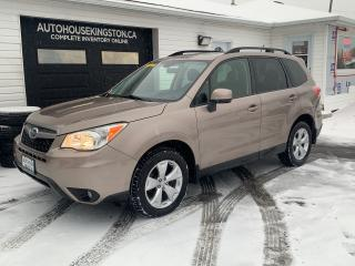 Used 2015 Subaru Forester TOURING WITH EYESIGHT for sale in Kingston, ON