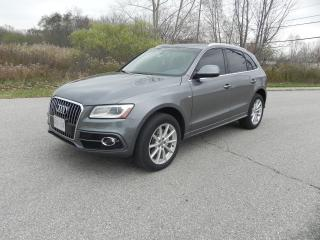 Used 2016 Audi Q5 S-Line TFSI 2.0 PROGRESSIVE for sale in Brantford, ON